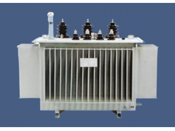 Amorphous alloy oil-immersed transformers